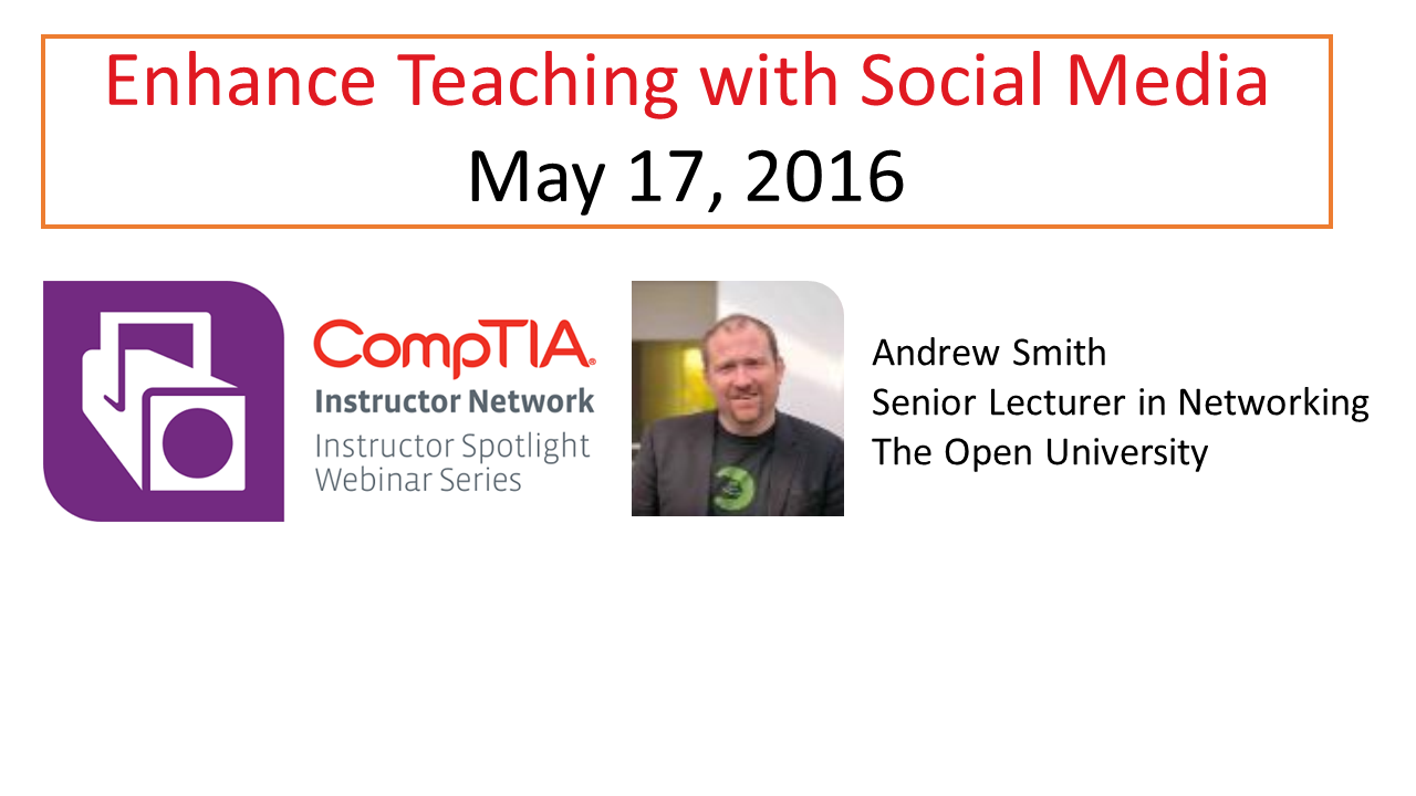 Enhance Teaching with Social Media
