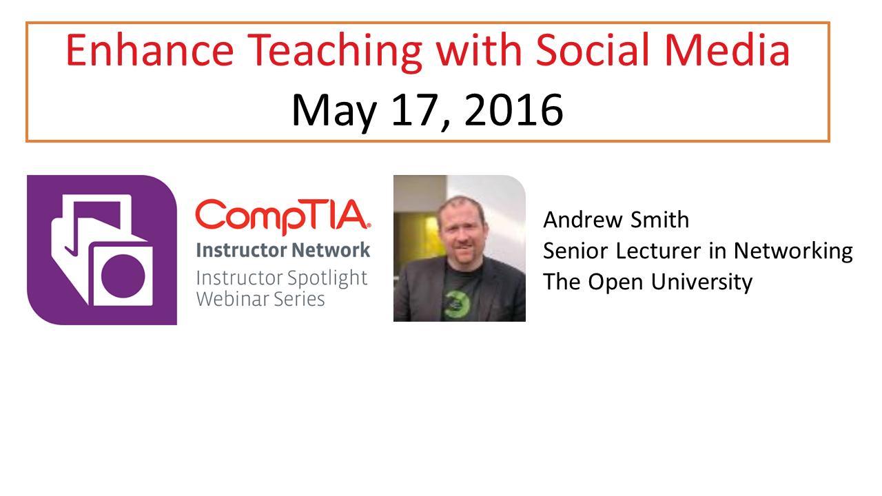 Enhance Teaching with Social Media