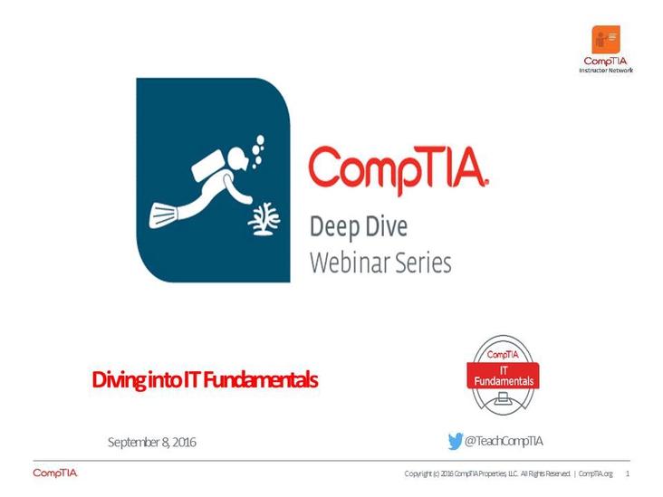 ITF Domain 4: Networking Deep Dive Series