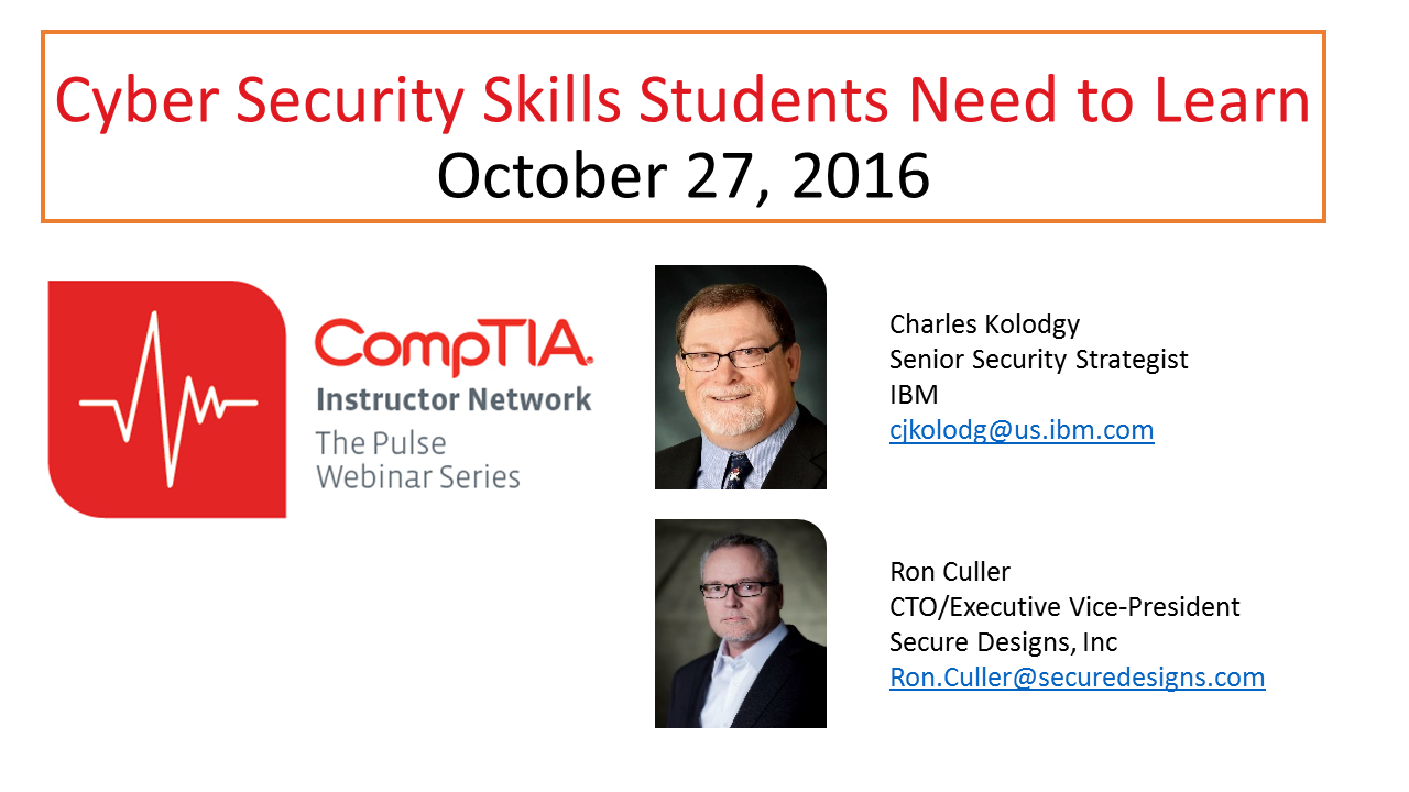 Cyber Security Skills Students Need to Learn