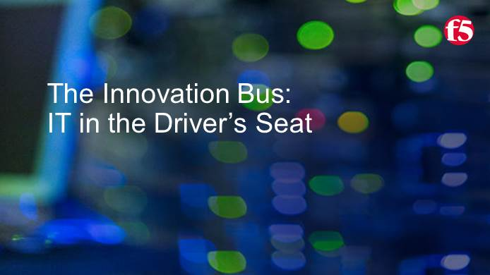 Live Panel | The Innovation Bus: IT in the Driver's Seat