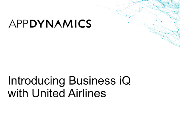 Introducing Business iQ with United Airlines