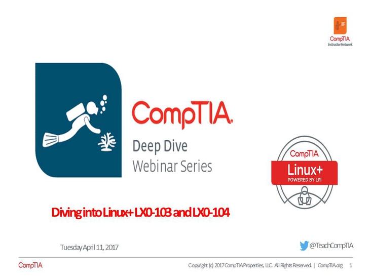 Linux+ Deep Dive - Session 3 Linux Usage