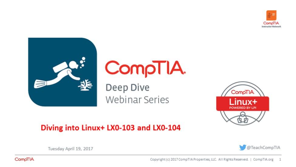 Linux+ Deep Dive - Session 4 Linux Administration