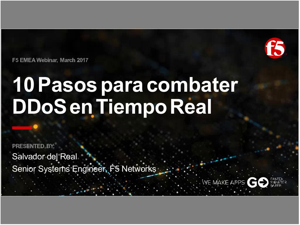 EMEA Webinar March 2017 - Spanish