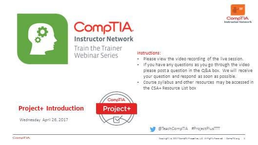 Project+ TTT: Session 2