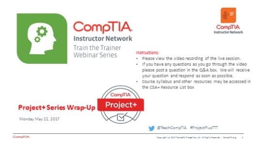 Project+ TTT - Series Wrap Up