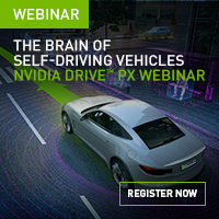 Using DRIVE PX as the Brain of AI Self-Driving Vehicles