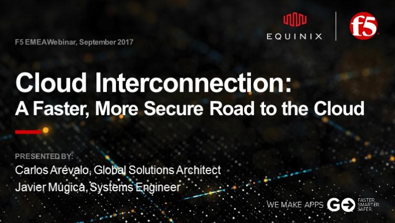 F5 EMEA Webinar September 2017 - Spanish