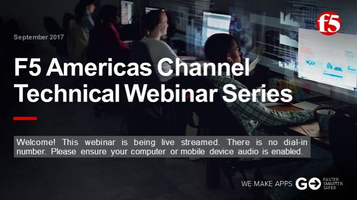 September Channel Webinar - Technical