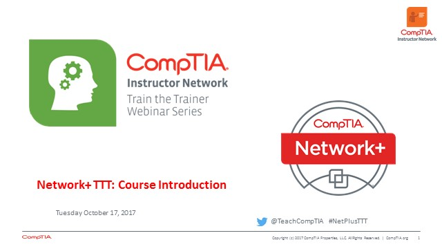 Network+ TTT - Session 1: Introduction