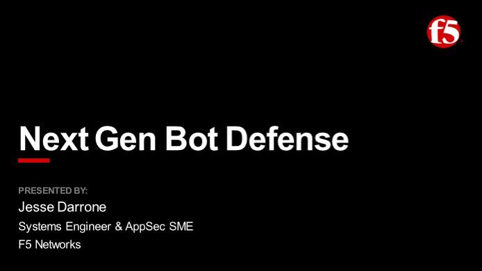 Bots Everywhere a Technical Webinar