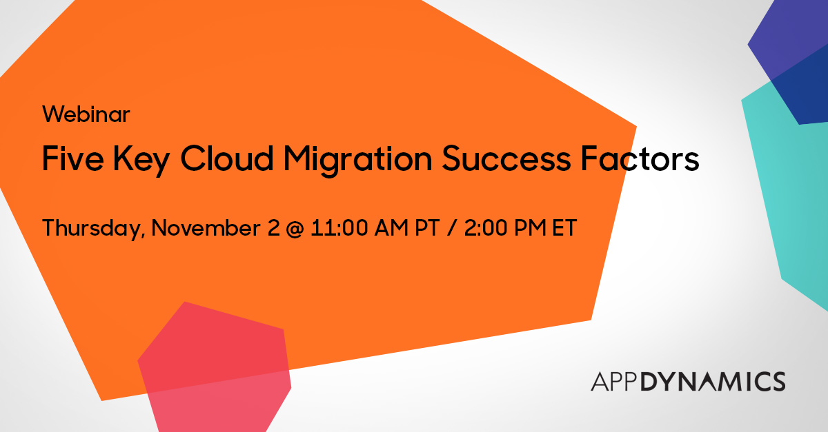 Five Key Cloud Migration Success Factors