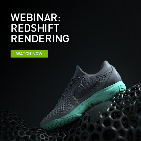 Redshift Rendering Accelerates Creativity at Aixsponza for Nike