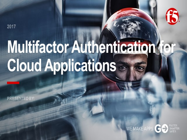 Multi Factor Authentication for Cloud Apps