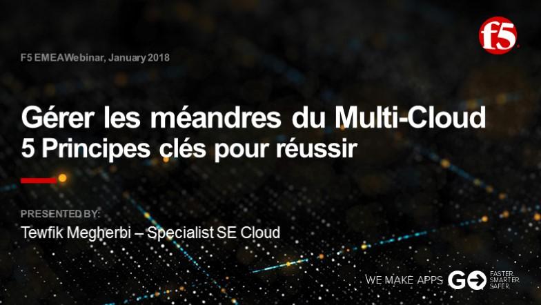 F5 EMEA Webinar January 2018 - French