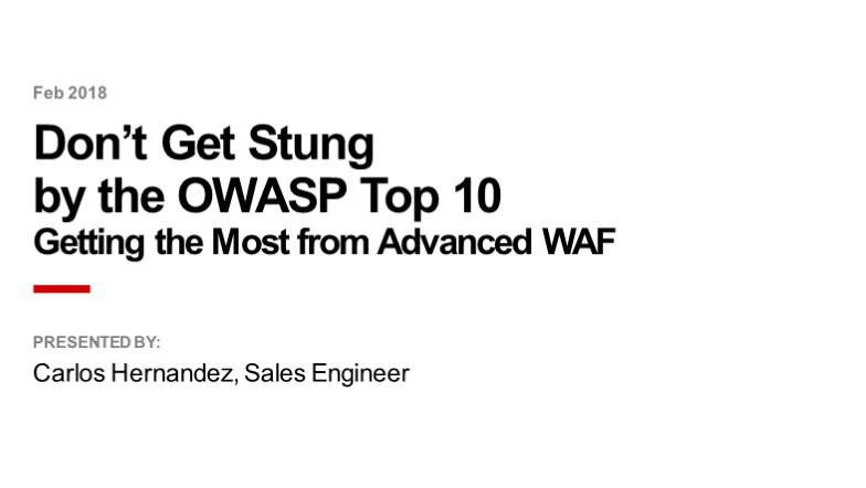 Proteja-se contra os 10 riscos mais importantes em Aplicações Web (OWASP Top 10)
