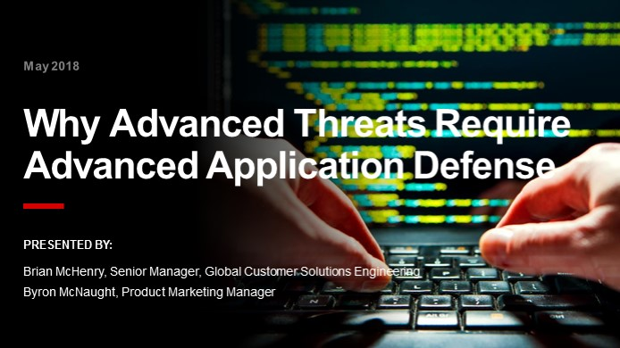 Why Advanced Application Threats Require an Advanced WAF