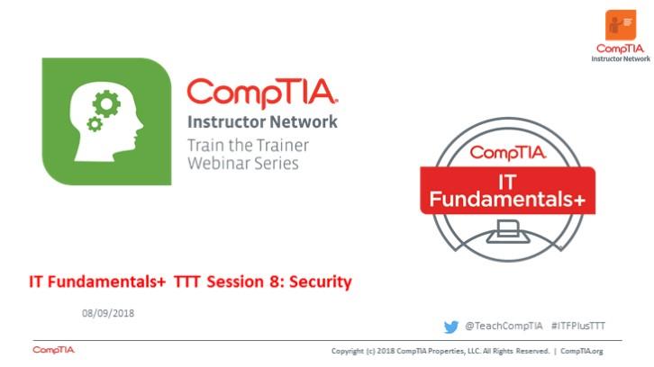 ITF TTT Session 8: Security