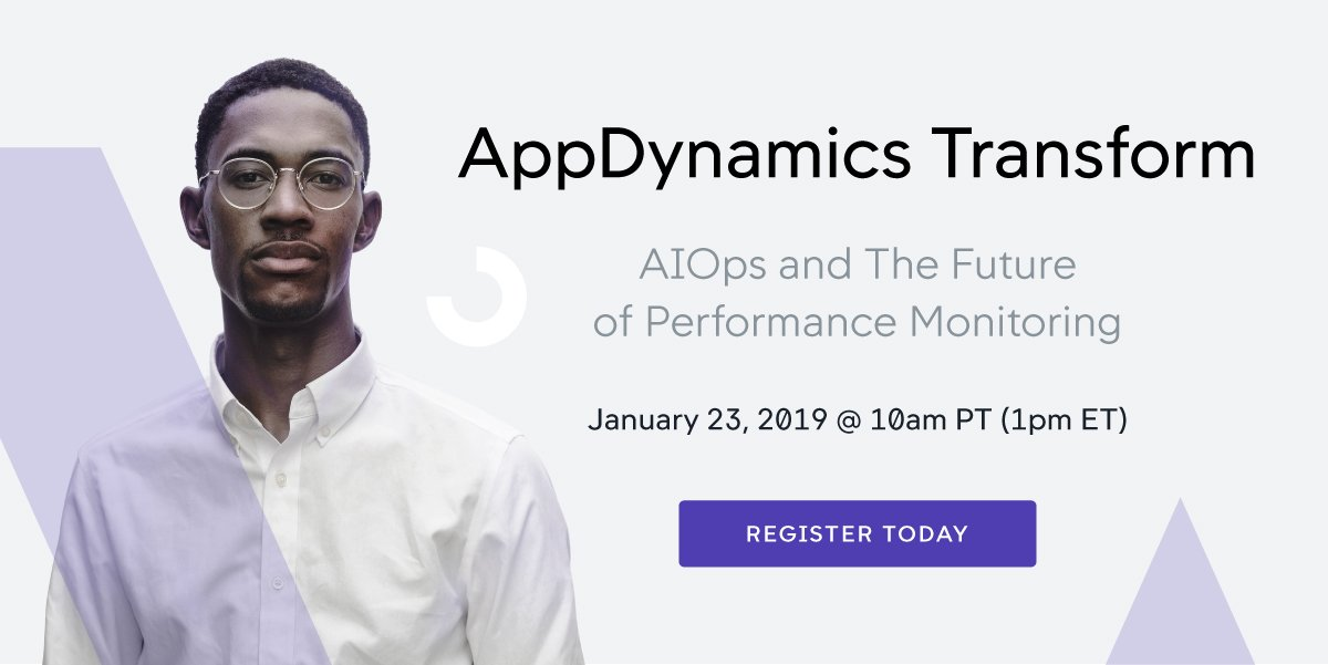 AppDynamics Transform: AIOps And The Future Of Performance Monitoring