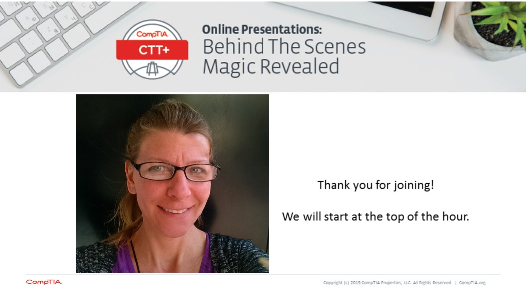 Online Presentations - Behind The Scenes Magic Revealed