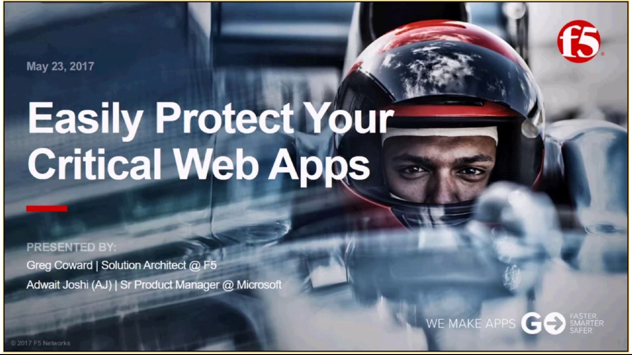 Easily Protect Your Critical Web Apps