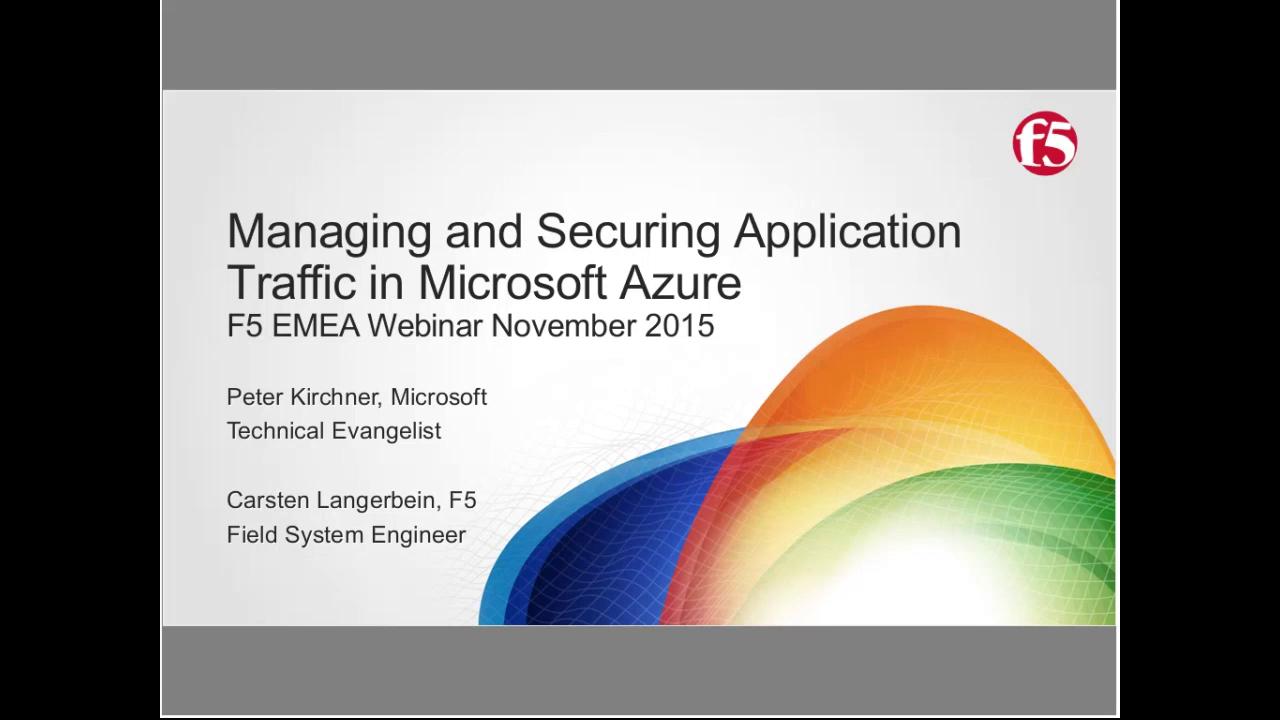 EMEA Webinar November 2015 - Germany
