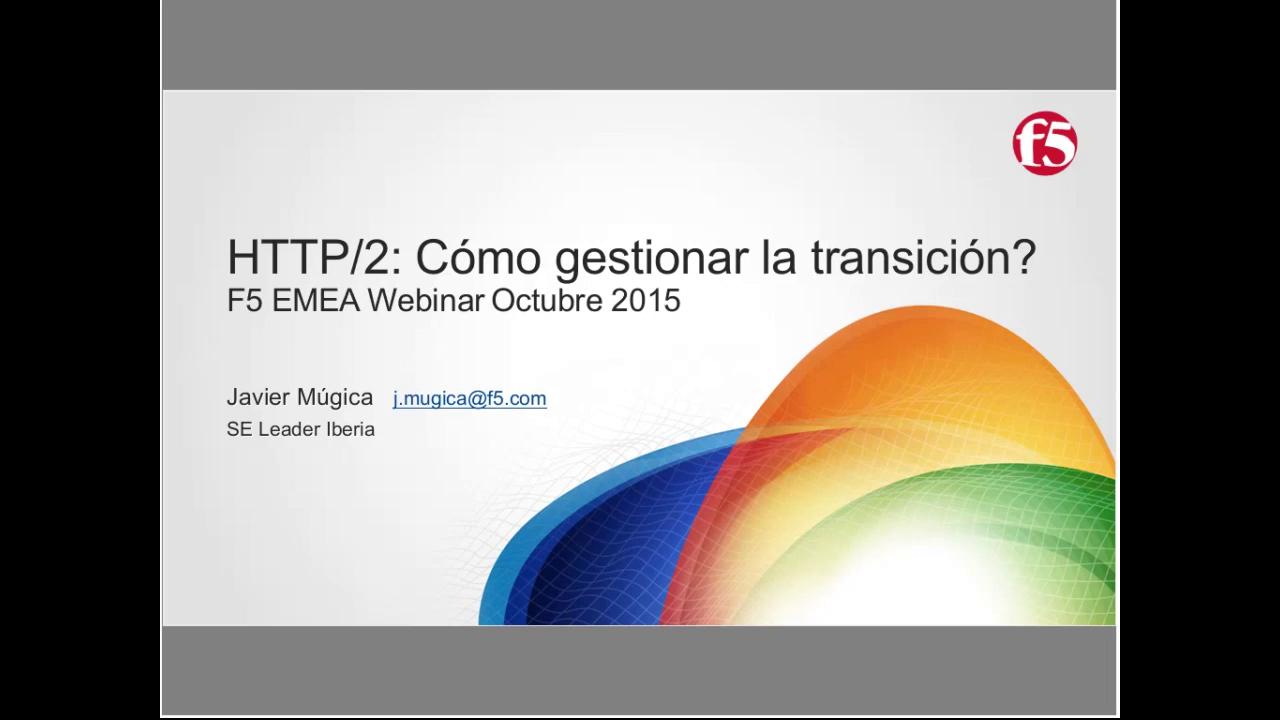 EMEA Webinar October 2015 - Spanish