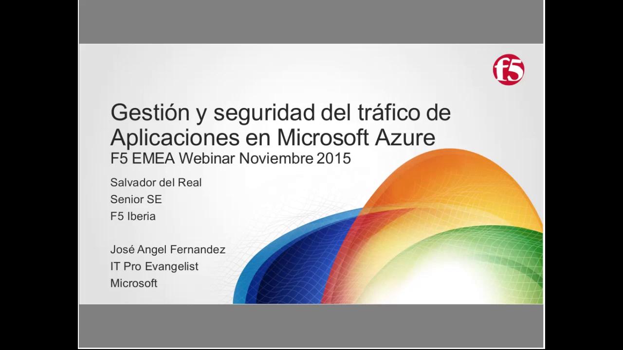 EMEA Webinar November 2015 - Spanish