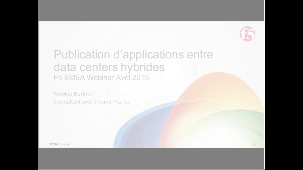EMEA Webinar April 2015 - French