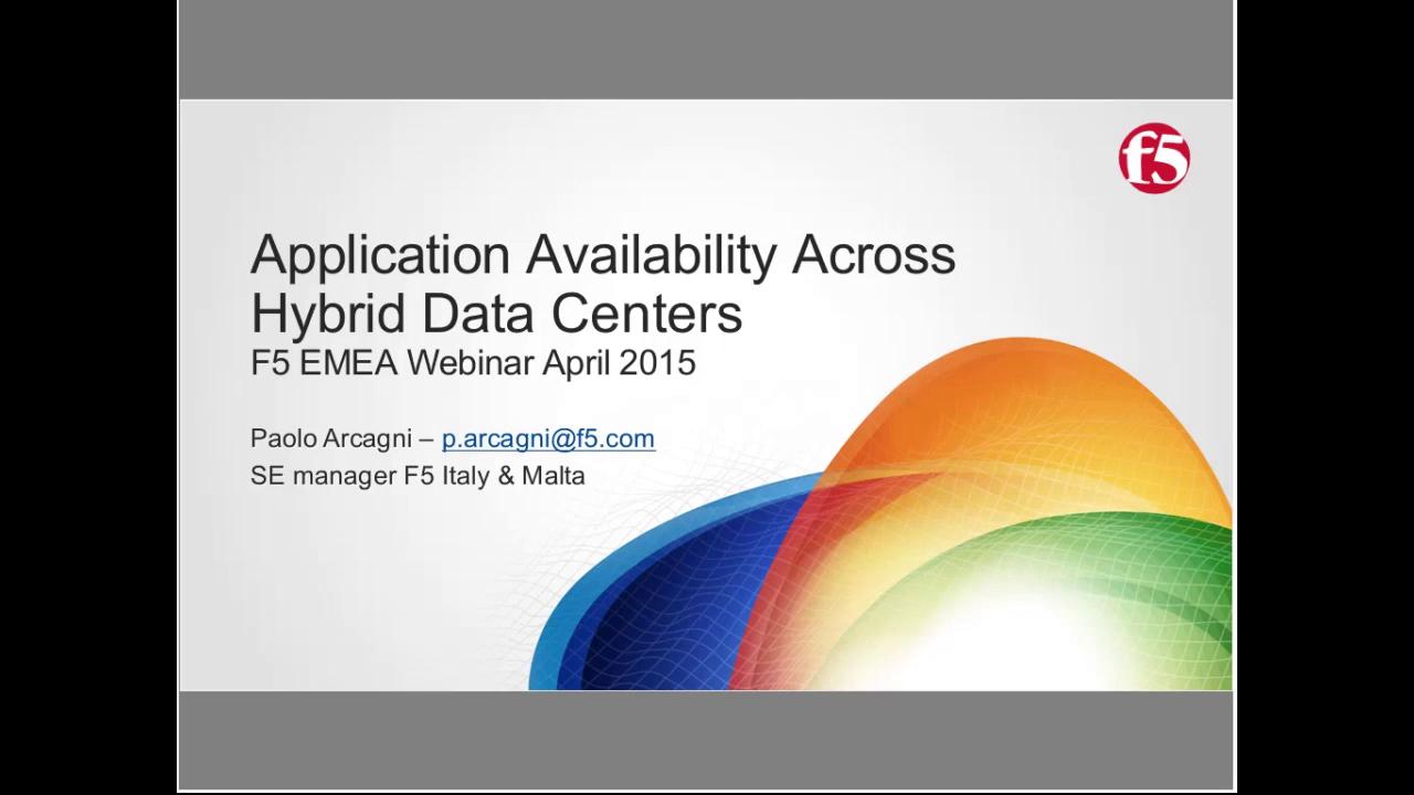 EMEA Webinar April 2015 - Italian