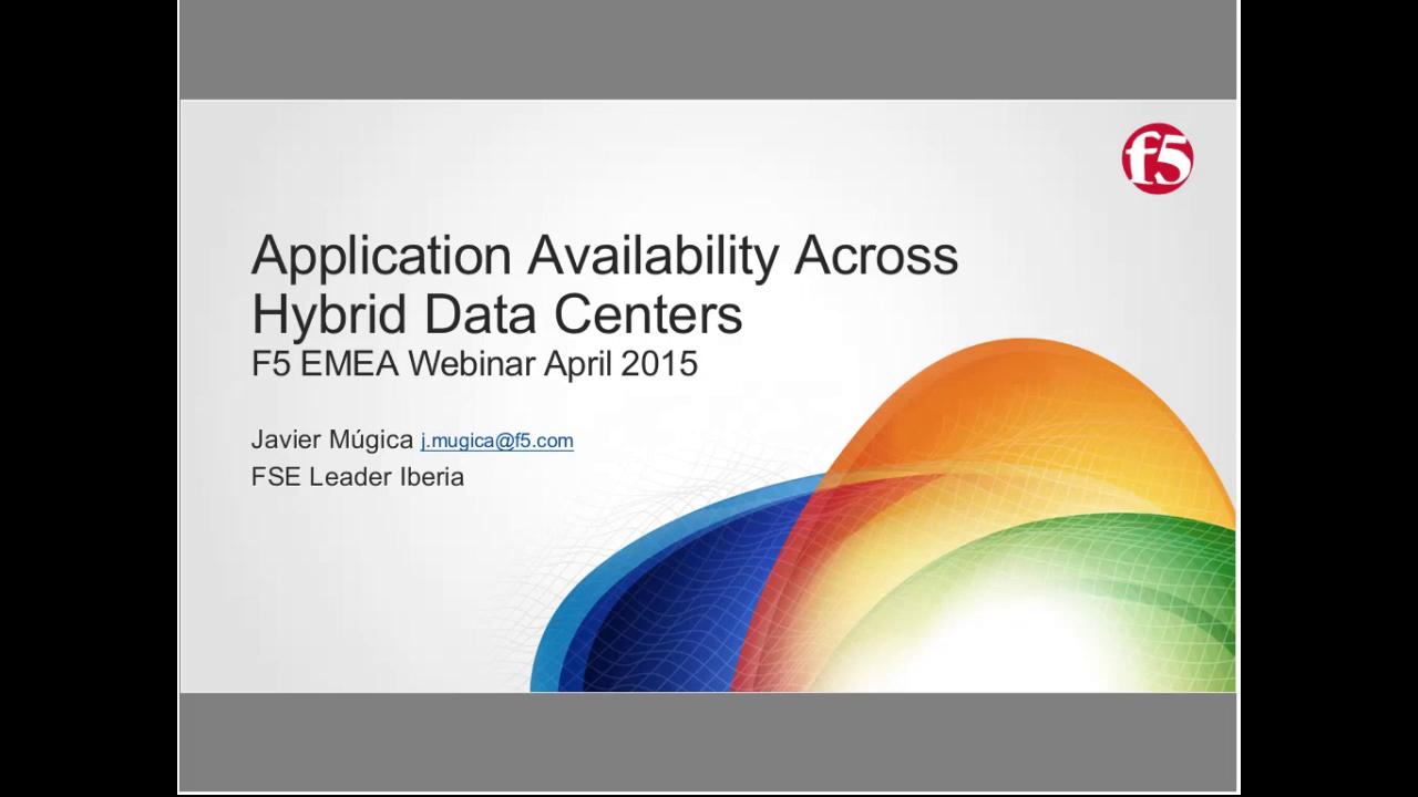 EMEA Webinar April 2015 - Spanish
