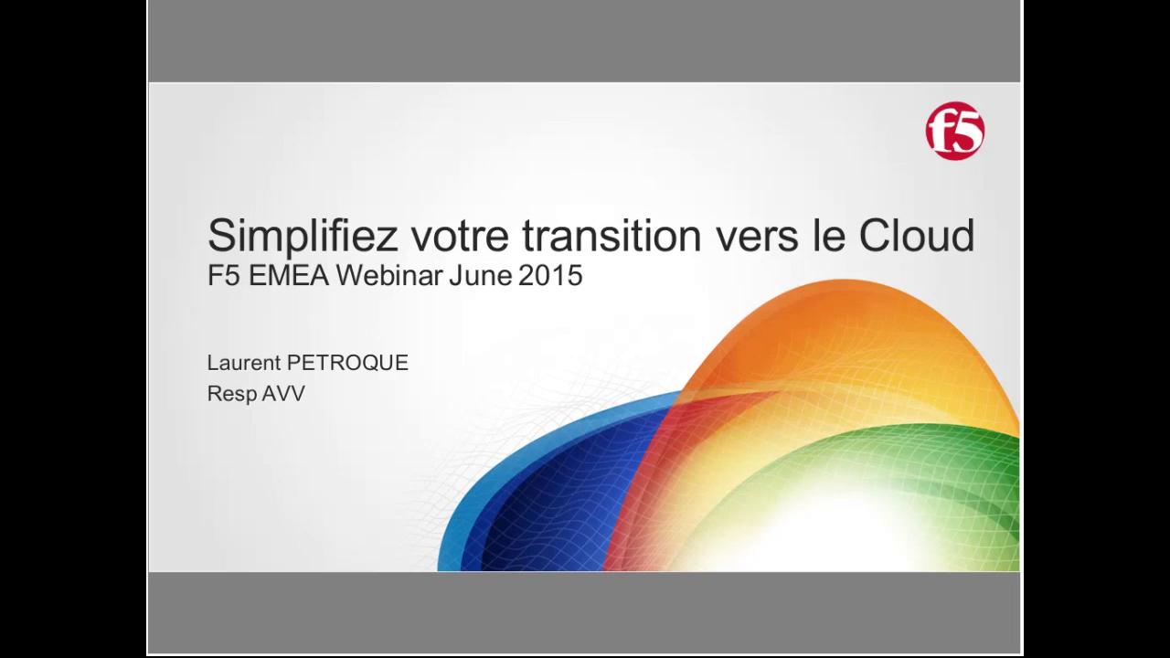 EMEA Webinar June 2015 - French
