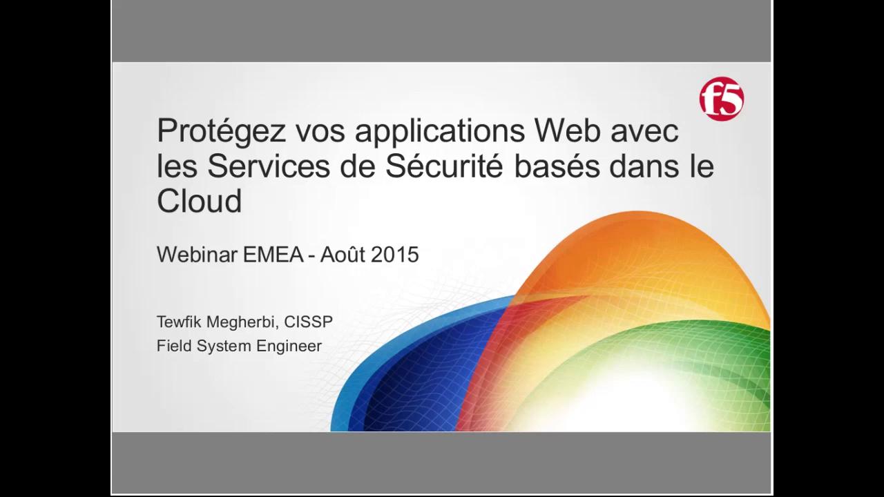 EMEA Webinar August 2015 - French