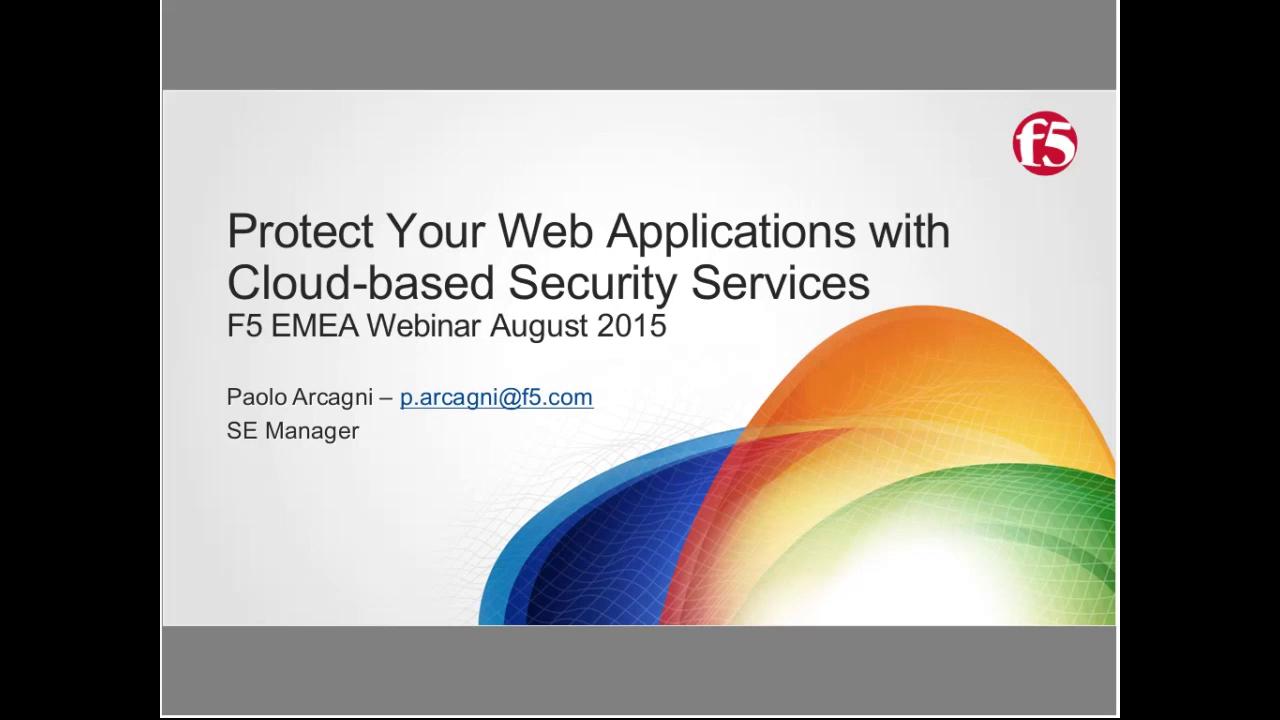 EMEA Webinar August 2015 - Italian