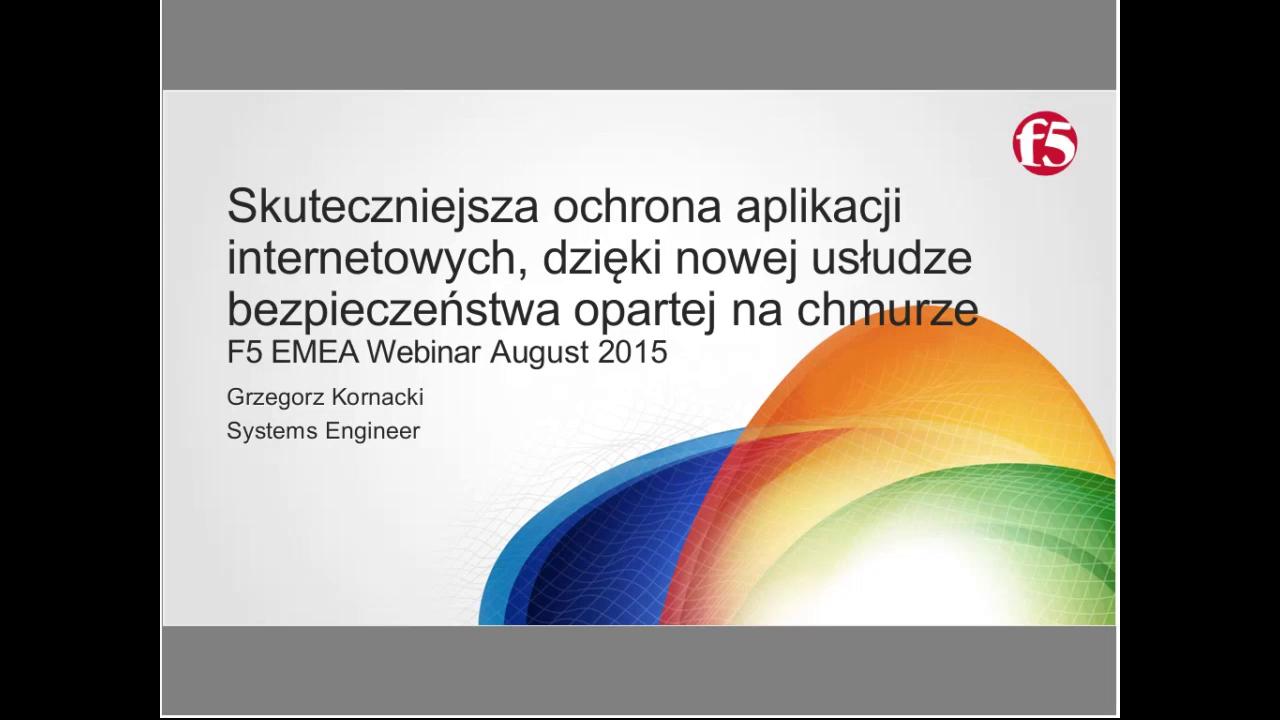 EMEA Webinar August 2015 - Polish