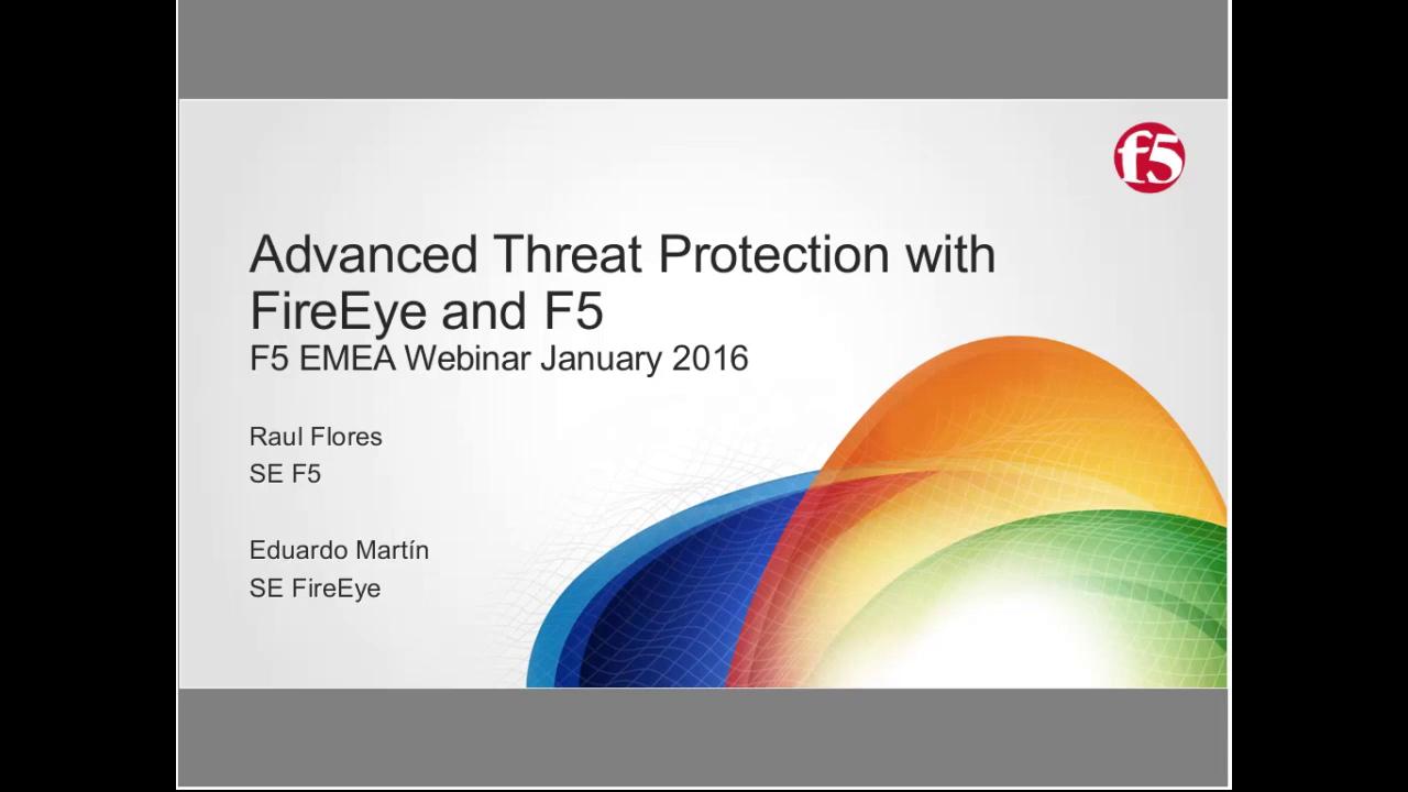 EMEA Webinar January 2016 - Spanish
