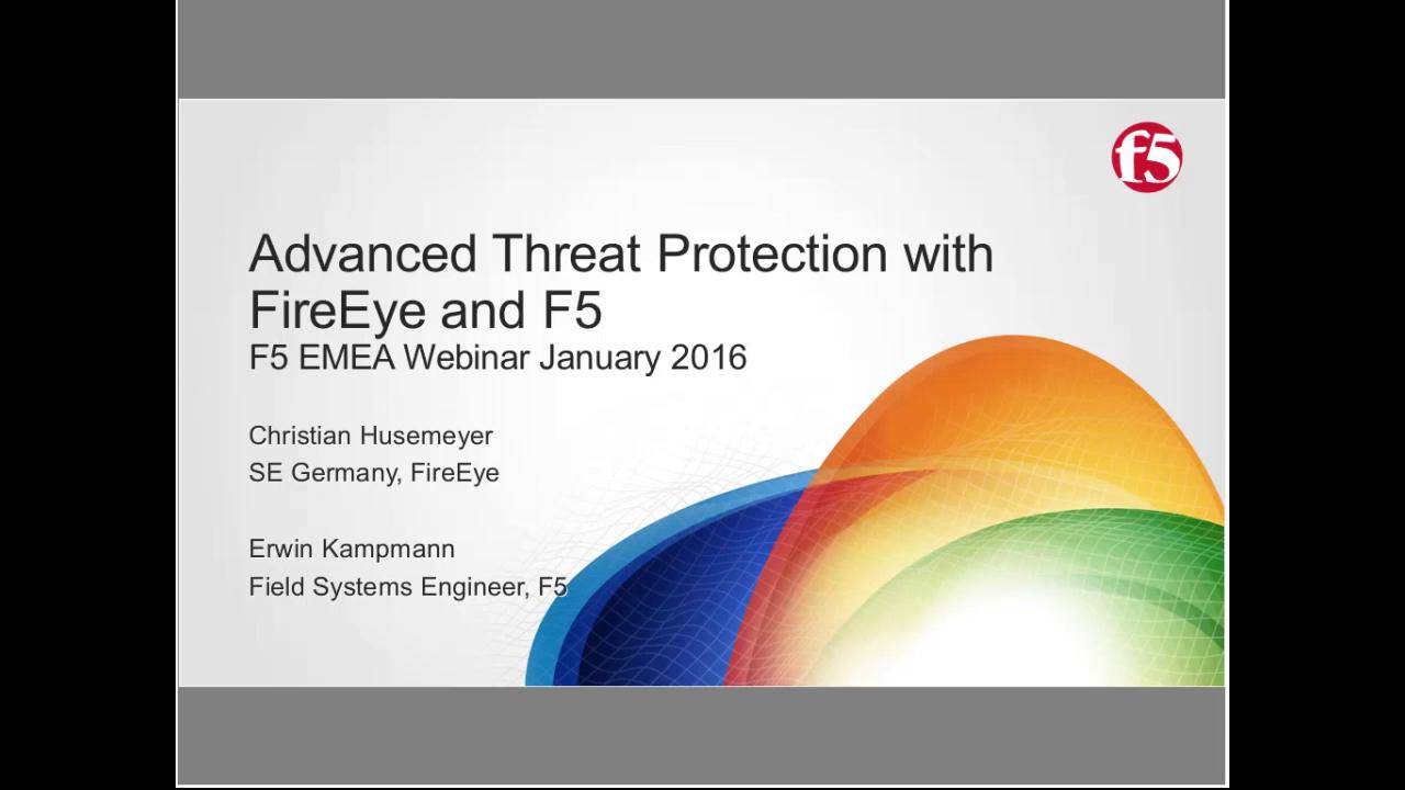 EMEA Webinar January 2016 - German