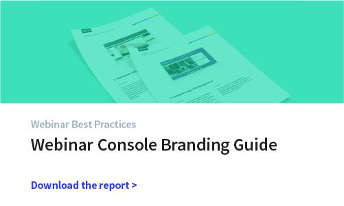webinar conso 1 of 3 Context: BP2 Webinar Console Branding Guide    Webinar Console Branding Guide