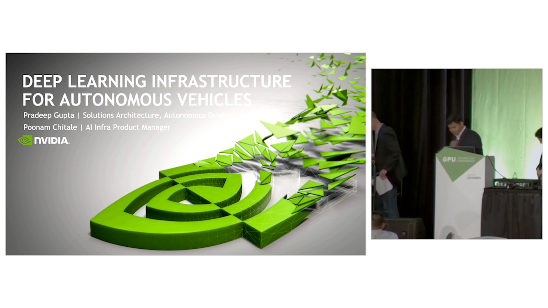 Deep Learning Infrastructure for Autonomous Vehicles -50 Minutes