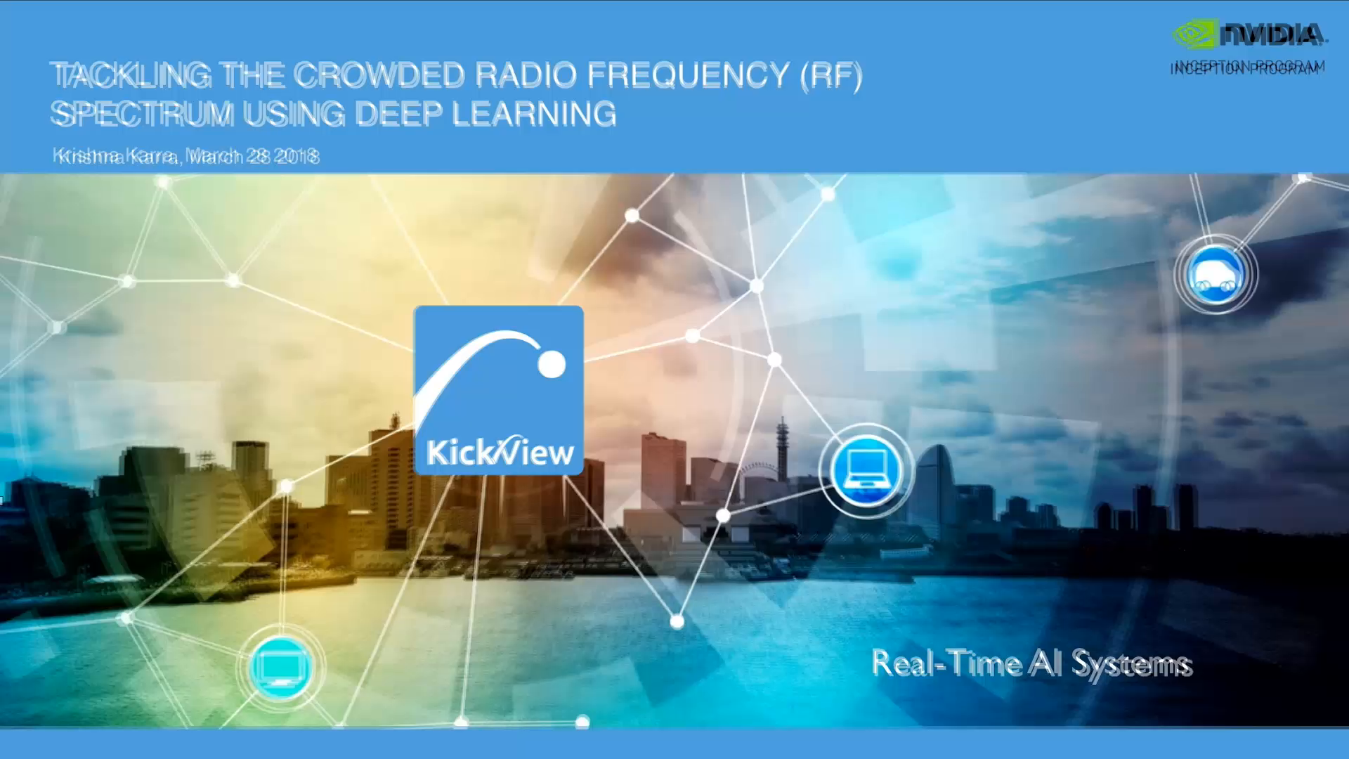 Tackling the Crowded Radio Frequency Spectrum Using Deep Learning - 25 Minutes