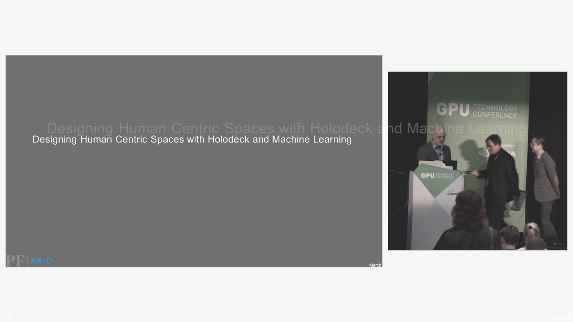 Designing Human Centric Spaces with Holodeck and Machine Learning - 25 Minutes