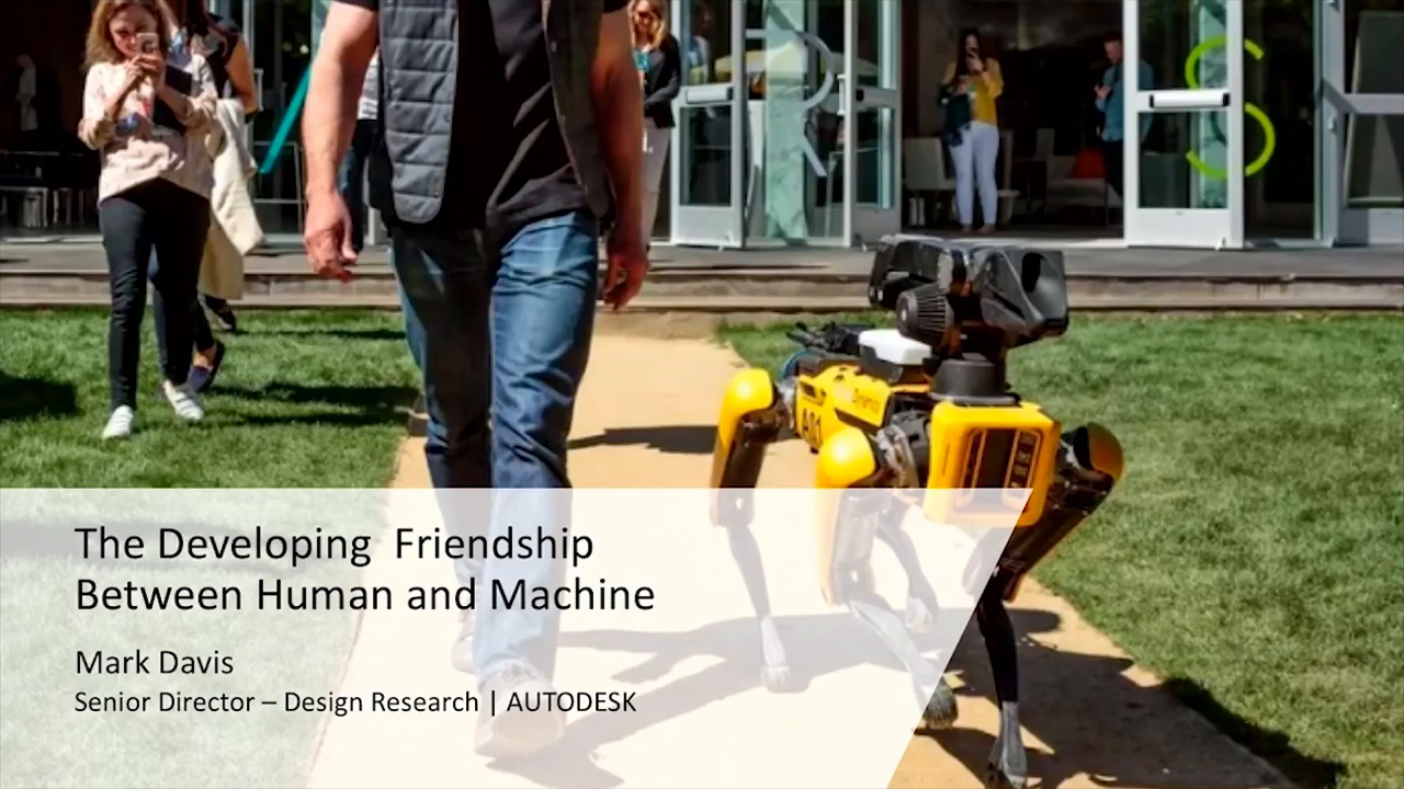 Creative AI- The Developing Friendship Between Human and Machine - 50 Minutes