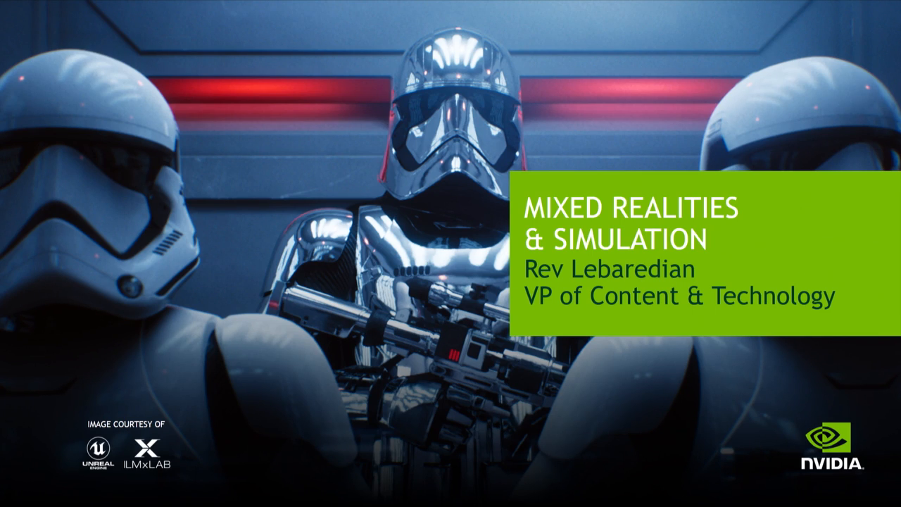 Mixed Realities and Simulation - 35 Minutes