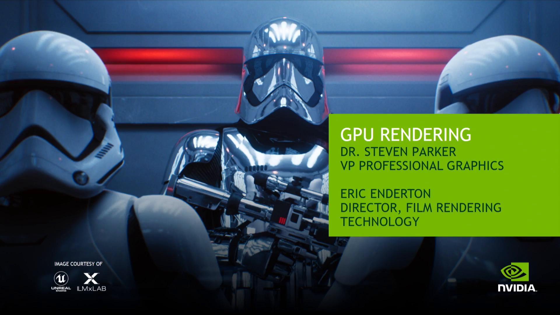 GPU Rendering - 50 Minutes